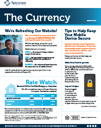 The Currency August 2019