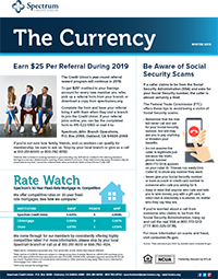 The Currency January 2019 Spectrum