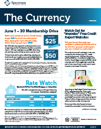 The Currency June 2019
