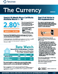 The Currency Spectrum March 2019