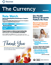 The Currency November 2019 Spectrum Cover
