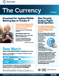 The Currency October 2019